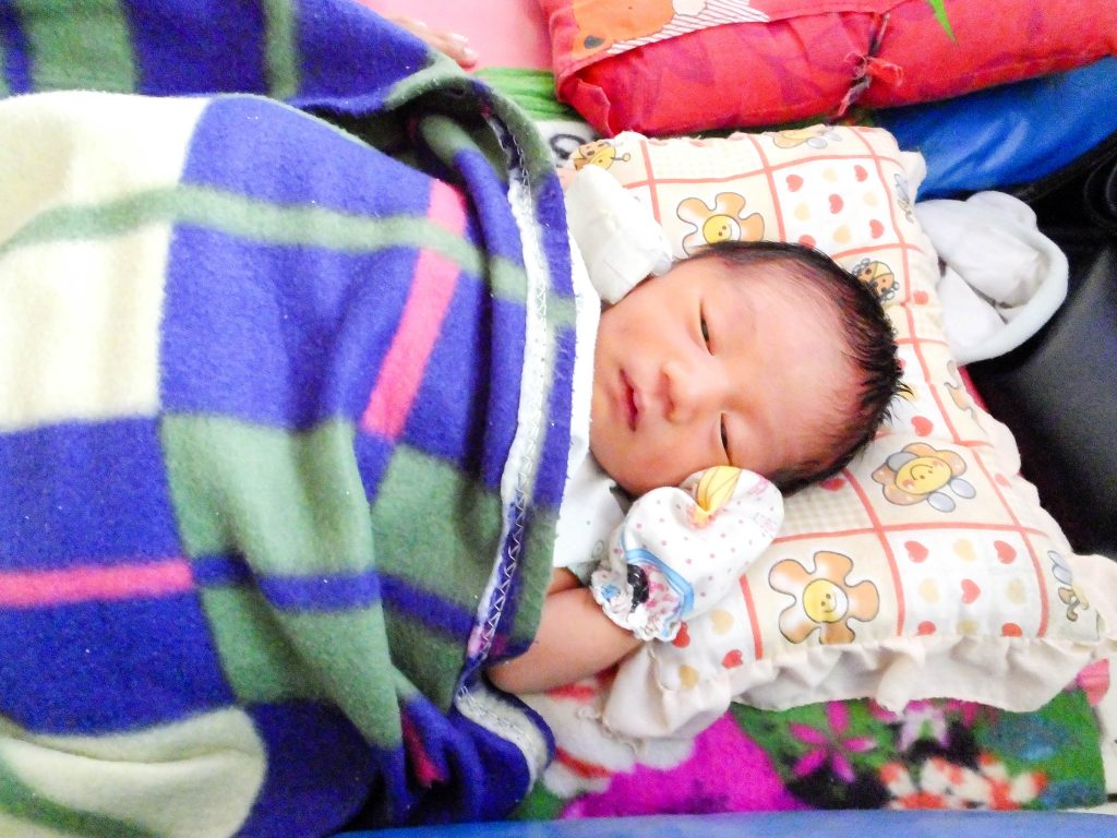 Meet Our Patients (30): Saw Say Htoo's Story – Newborn baby